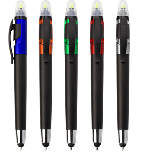 3 in 1 - Marker, Plastic Ballpoint Pen, Stylus - Group Image