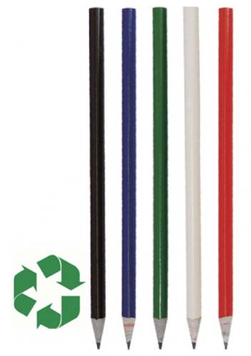Recycled Newspaper Eco Pencil - Group Image