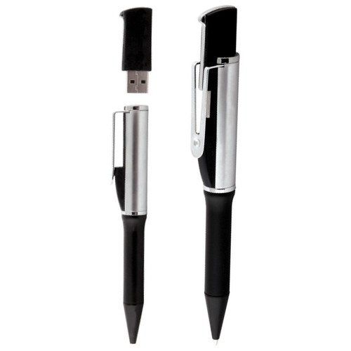 Forbes - Promotional Metal Pen With USB - Group Image